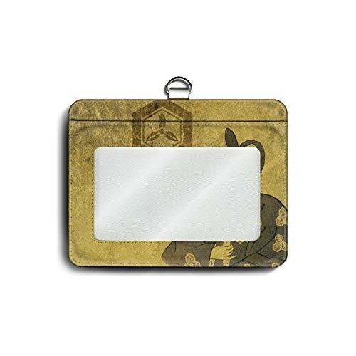 パスケース 社員証入れ 定期入れ 戦国大名 直江兼続 戦国武将 メンズ 可愛い パスケース かわいい メンズ プレゼント ケース 絵画 個性的 通勤