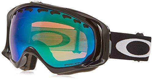 Oakley Crowbar Snow Goggles, Jet Black, Prizm Jade Iridium