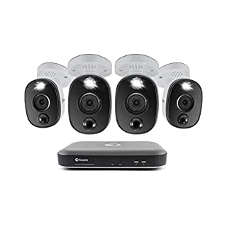 4K Surveillance System Kit with 8-Channel 2 TB DVR and Four 4K Cameras (B07X27KCNS) | Amazon price tracker / tracking, Amazon price history charts, Amazon price watches, Amazon price drop alerts