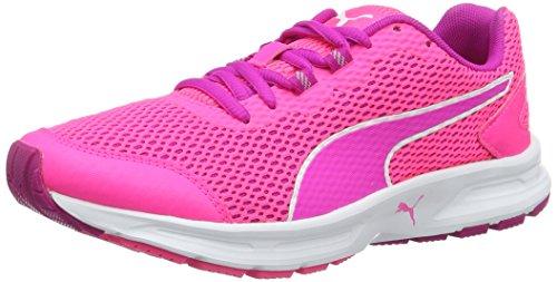 Puma Descendant V4 Wn's, Zapatillas de Running para Mujer, Rosa (Knockout Pink-Ultra Magenta-Puma White 06), 39 EU