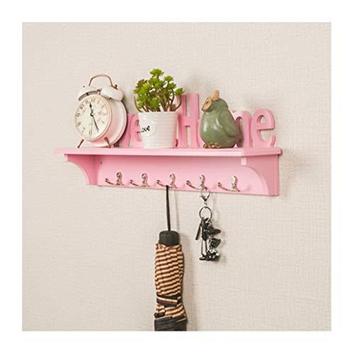 S.Z.H Creatieve muur opknoping rek op de muur, sleutelhanger, muur opknoping haak, aan de muur gemonteerde opslag rek, kapstok met 5 dubbele haken
