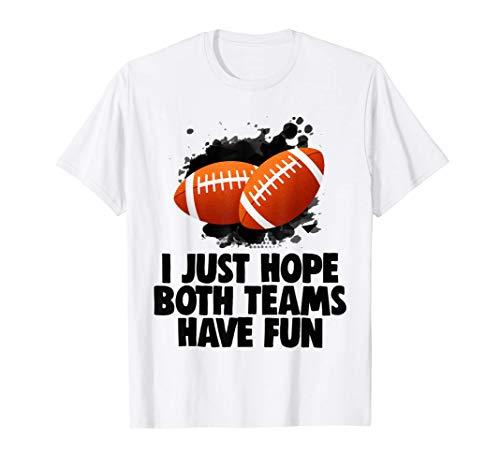 American Football Party Kids Essen Sport Spaß Geschenk T-Shirt