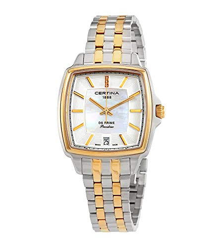 Certina DS Prime C028.310.22.116.00 Reloj de Pulsera para Mujeres con Diamantes genuinos