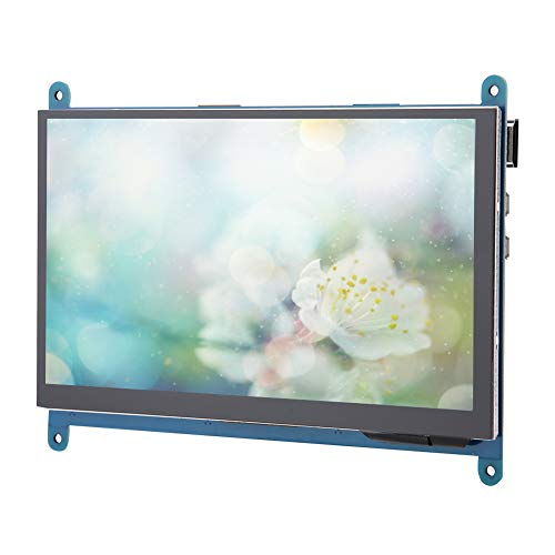 7in IPS Touch Screen,Full-view IPS Touch Screen for Raspberry Pi 1024 * 600 HD HDMI Display Monitor,High Resolution up to 1024 * 600