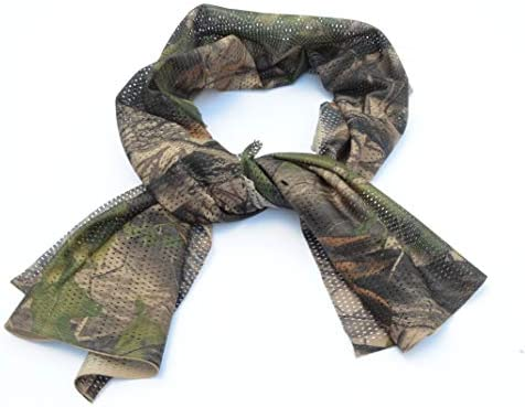 Acid Tactical Camouflage Mesh Material Hunting Shemagh Scarf Balaclava Head Neck Cover Real product image