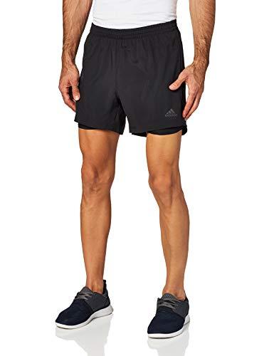adidas Herren Own The Run 2in1 Shorts, Black, L 7