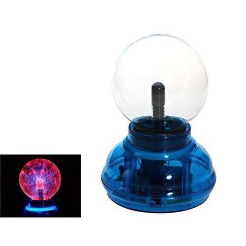 Carlisle Plasma Nebula Ball Lamp (Blue, 4 Inches)