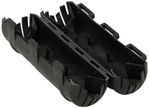 Dual Rated Compression Connector, Insulating Cover for WR Series Tap Connector, All'D' Die Taps - 2 1/2' Long/Less Capacity, Black Connection Length