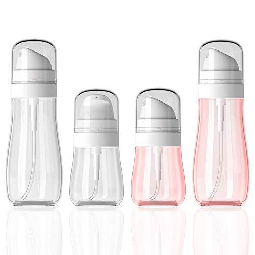 4PCS Spray Bottle, Spray Bottle Empty, Travel Spray Bottles Small Spray Bottle Aerosol Fine Mist Curly Hair Spray Bottle for Skincare, Makeup, Hair, Cleaning, Alcohol, Gardening 50ml,100ml…