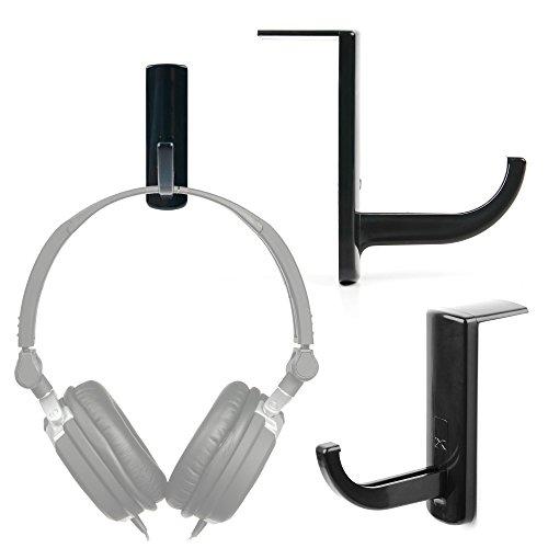 DURAGADGET Porte-Casque Versatile pour Sennheiser HD25-1-II, PXC-450, HD 202-II, HD 219, PC 310, HD201 Casque DJ Pro et HD 449 - à Fixer sur Bureau et Table