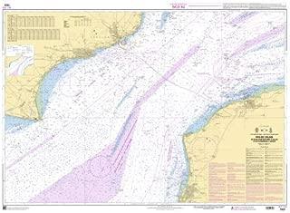 SHOM Chart 7323: Pas de Calais - De Boulogne-sur-Mer a Calais, 33 x 47 inches, Water-Resistant Paper