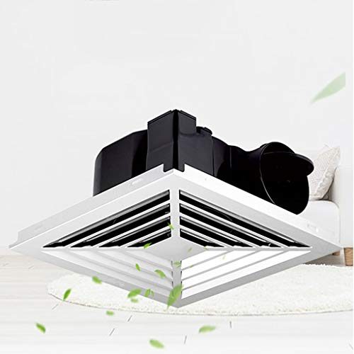 Ventilador de ventilación doméstico Ventilador De Techo, 10' For El Baño/Cocina/Sala De Estar/Oficina LITING