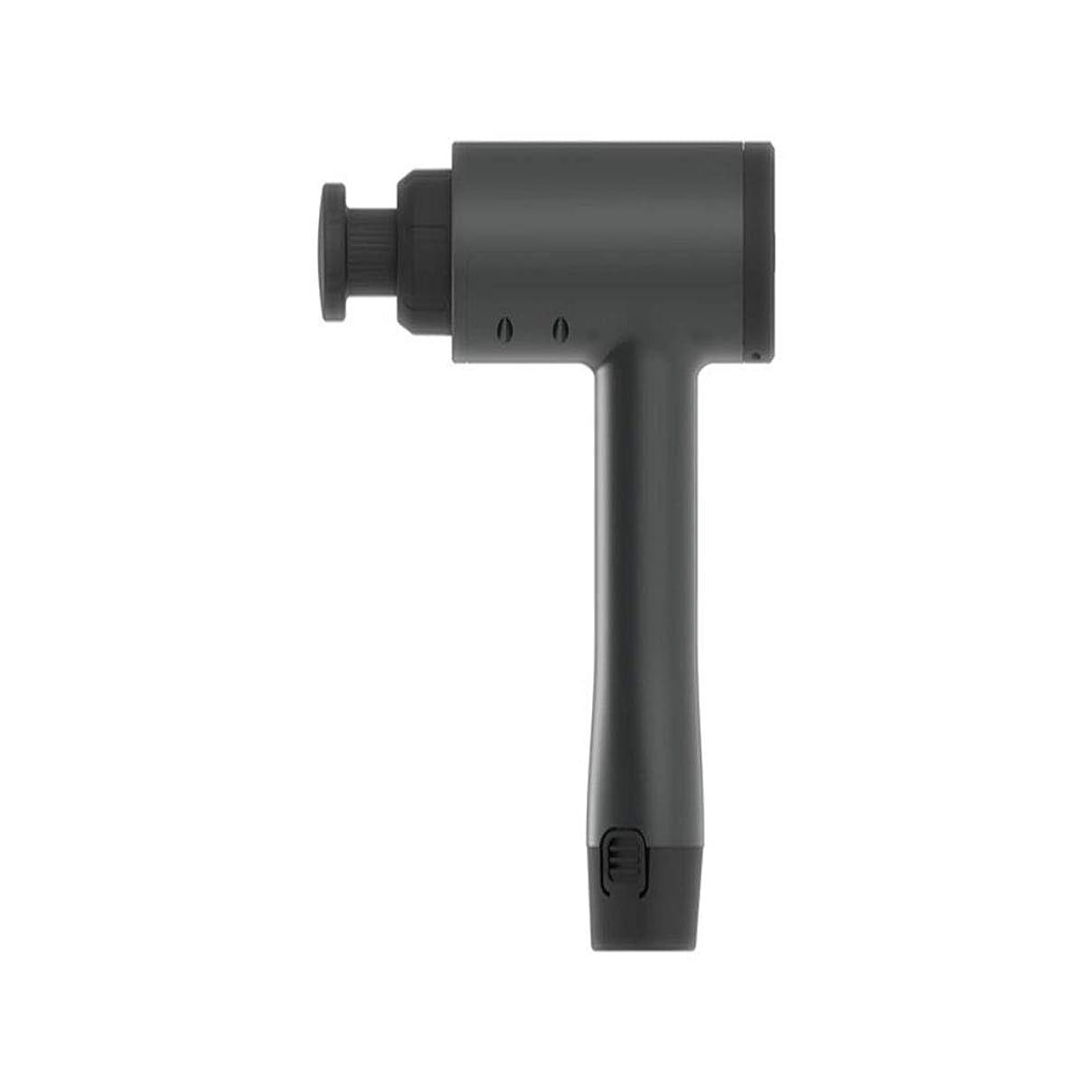 ソーダ水に話すデジタルポータブル 筋肉痛および剛性の交換可能なマッサージャーの頭部のための充満手持ち型の深い筋肉の筋膜のマッサージ銃 インテリジェント