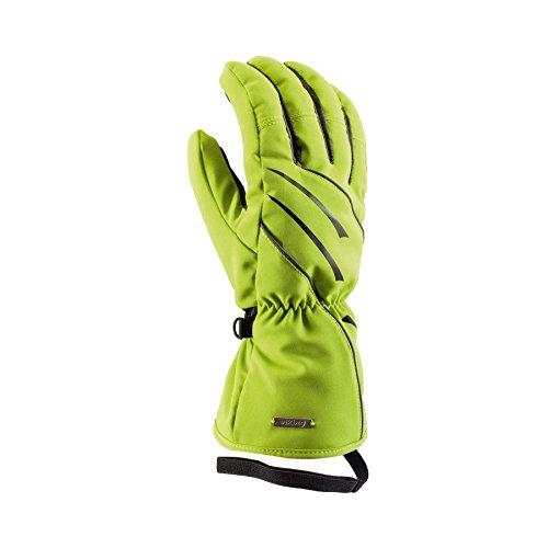 VIKING Greta Damen Skihandschuhe Atmungsaktiv Warm Ski Snowboard Handschuhe - Grün, 6
