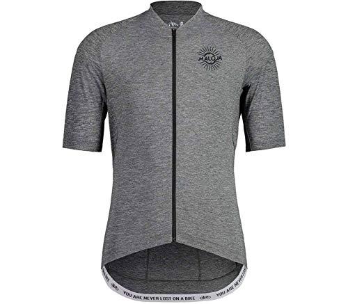 Maloja Motm. T-Shirt Multisport Homme Grey Melange M