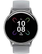 Umidigi Uwatch 2S Smartwatch met eigen horlogefaces, fitnesstracker polshorloge met polshorloge, sporthorloge, stopwatch, 5 ATM waterdichte smartwatch met stappenteller, slaapmonitor voor dames en heren