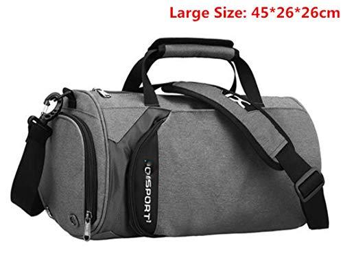 FeLuggage - Bolso de mano de viaje con ruedas, gran capacidad