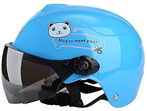 YQZX Cascos para niños, Cascos para Bicicletas, Cascos para Motocicletas Infantiles, niños...