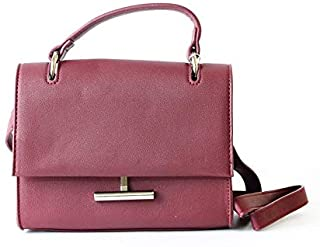 Lenz Top Handle Bag For Women, Red, AM19-B052