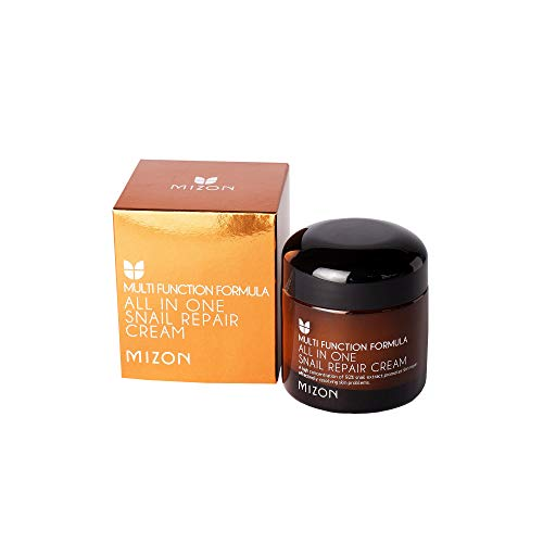MIZON Snail Repair Cream Moisturizer with Snail Mucin Extract