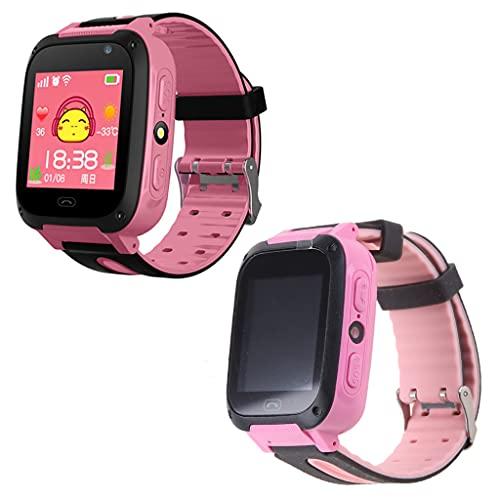 S4 Impermeable Pantalla Táctil Reloj Inteligente Muñeca Anti-perdida SOS Dial Llamada Smartwatch con GPS Localizador Tracker Niños Regalos