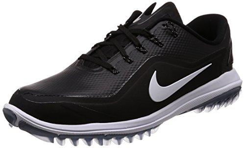Nike Lunar Control Vapor 2 W, Zapatillas de Golf para Hombre, Negro (Black/White/Cool Grey 002), 42 EU