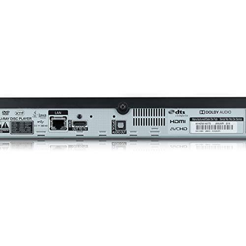 LG UBK80 4K Ultra HD HDR Blu-ray DVD CD Player mit High Resolution Audio Voll Funktionsfähige Fernbedienung inkl. High-End USB-Kabel, 430 X 45.5 X 205 Mm Approx