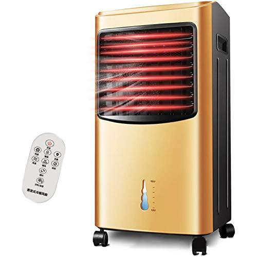 HKDJ-Portatile Moderno Raffrescatore Evaporativo,Riscaldatore,Umidificatore &Purificatore d'Aria,Basso Energia,Uso Domestico O Dell'ufficio,d'oro
