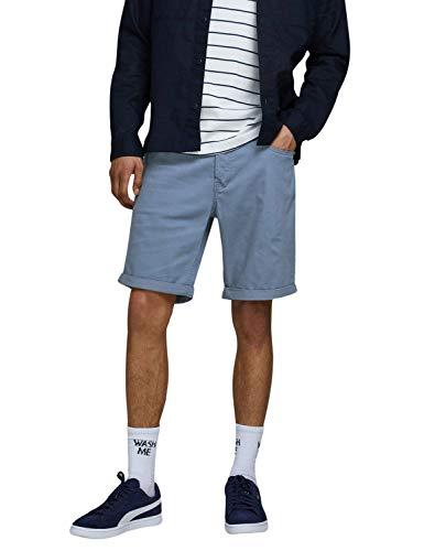 Jack & Jones JJIRICK Original Short AKM Pantalones Cortos, Vintage Indigo, S para Hombre