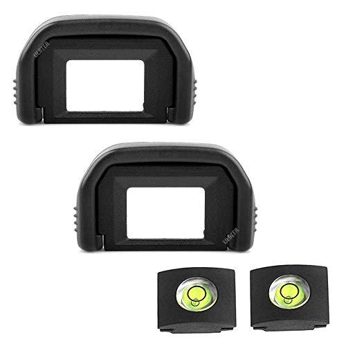 ULBTER 600D Augenmuschel Okular Sucher EF fur Canon EOS 2000D 1300D 1200D 1100D 800D 760D 750D 700D 650D 600D 550D 500D 450D 400D 350D 250D 200D 100D Kamera EF Okularmuschel 2 Stuck