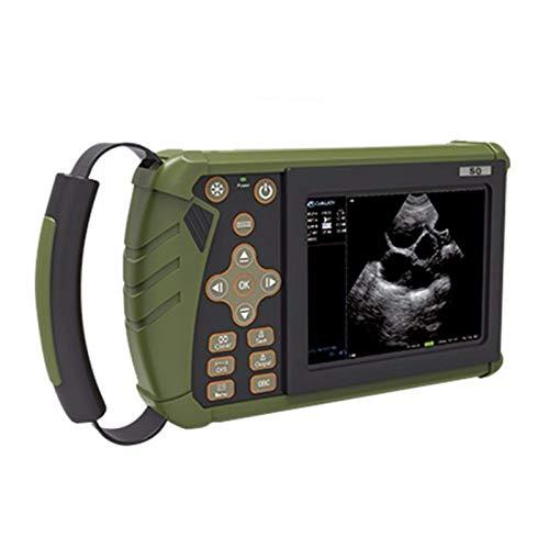 QHWJ Máquina de ultrasonido Veterinario con una sonda en elección, máquina de ultrasonido de Pantalla de Alta definición para ovejas, Cerdo, Perro, Gato