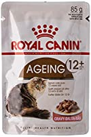 RC freshness bag Multipack Health Nutrition Ageing +12 12x85g Small pieces of gravy for cats from the age of 12 years with sensitive teeth and gums Can support the joint health by a high content of essential fatty acids