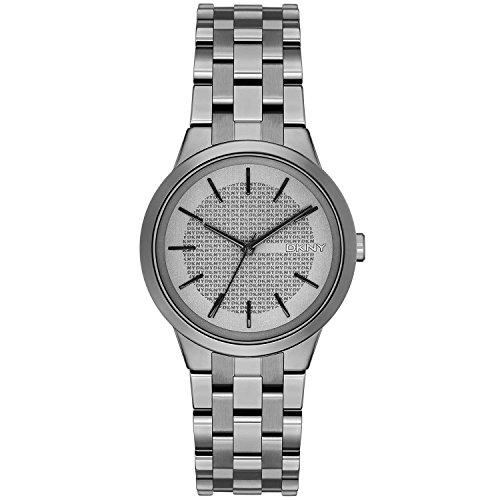 DKNY Damen Analog Quarz Uhr mit Edelstahl Armband NY2384