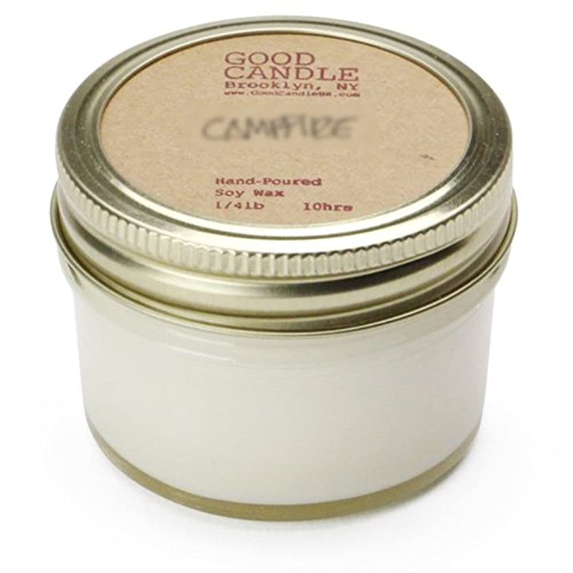 シャベル軍デモンストレーショングッドキャンドル 1/4ポンド ゼリージャー キャンドル Good Candle 1/4LB Jelly jar candle [ Basil ] 正規品