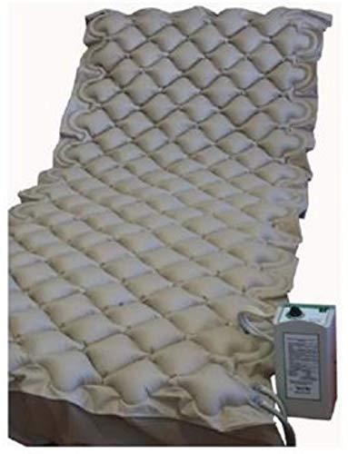 Preventieve matras tegen perslucht met compressor.