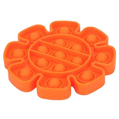 RuiChy Push pop pop Bubble Sensory Fidget Toy Kids Autism ADHD Special Needs Stress Reliever Office...