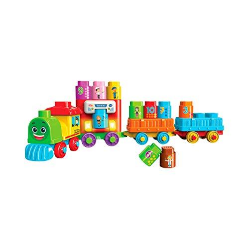 Vtech 80-606604 BlaBlaBlocks Eisenbahn Babyspielzeug, Mehrfarbig