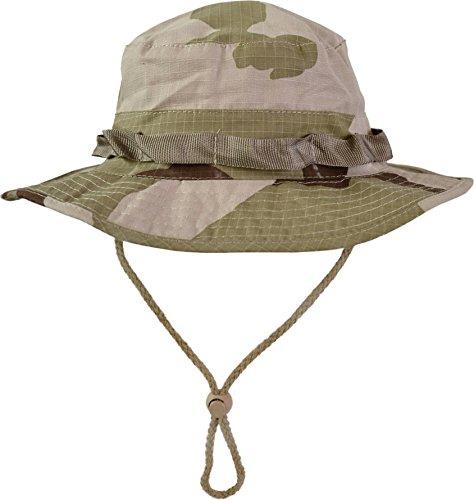 normani US GI Boonie Hat US Buschhut Safari Hut S-XL Farbe Wüstentarn Größe M