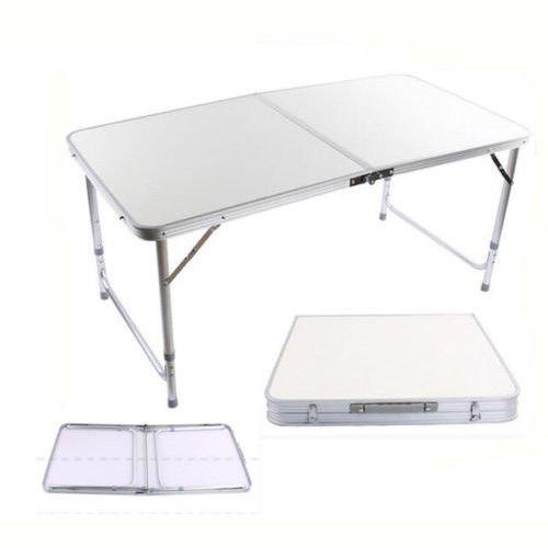 Yosoo Tavolo pieghevole,Tavolo da buffet,Computer Desk,Scrivania,Tavolo da campeggio pieghevole da picnic,120cm*70cm*60cm