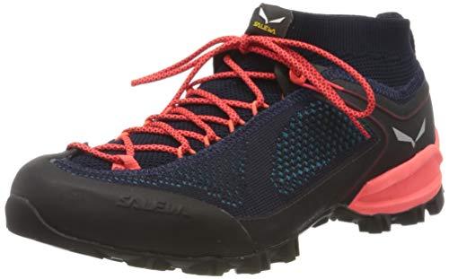 Salewa Damen WS Alpenviolet Knitted Trekking-& Wanderstiefel, Premium Navy/Ocean, 37 EU