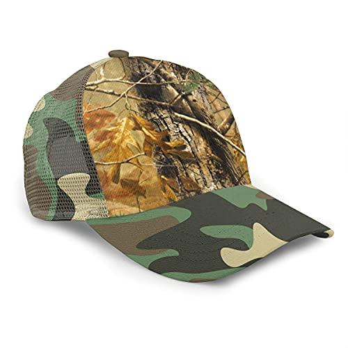 VJSDIUD Sombrero Men's Twill Baseball Cap, Adjustable, Hunting Camo