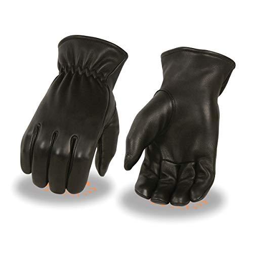 Milwaukee guantes de piel Para Hombre (sin forro, de ciervo con Cinch muñeca (,)