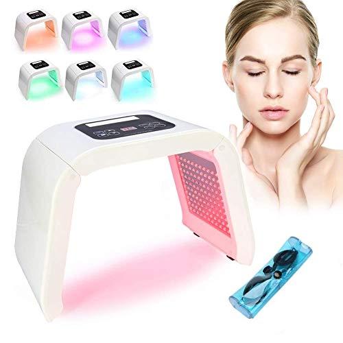 NSWD Profesional Fotón PDT Luz LED Facial 7 Colores Máscara Máquina para...