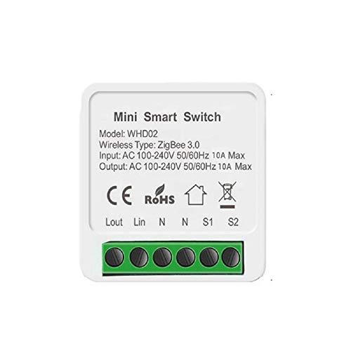 Tu 3 0 Smart Switch Wifi Smart Switch Hub Gateway Admite Control Bidireccional Y Control Remoto A Través de La Aplicación Smart Life/Tuya Utilizada Junto con Alexa Requiere Un Hub