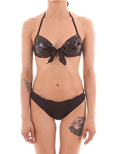 Twin Set MMA44+MMA66 Bikini Donna Nero III