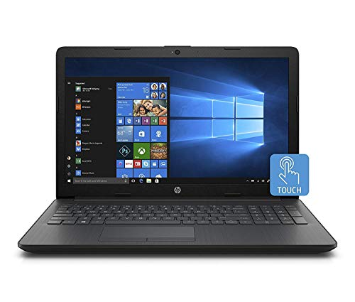 2018 HP 15.6' Business Laptop HD+ WLED-backlit Touchscreen Display Intel i3-7100U Processor 12GB DDR4 RAM 1TB HDD Intel 620 Graphics DVD-RW 802.11AC Wifi HDMI Windows 10-Black