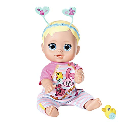 Zapf Creation 826164 Born Funny Faces Bouncing Baby Puppe, bunt