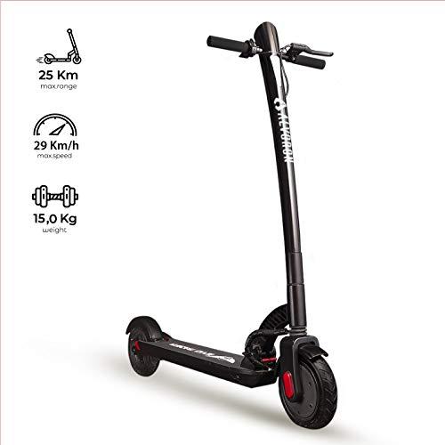 Alvoron One - Der Elektro Scooter für die komfortablen Fahrer | Schwarz | 7,8 Ah Akku | E-Scooter | Elektroroller für Erwachsene | max. 800W | 30 Km/h | 8.5 Zoll Reifen