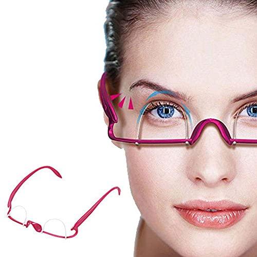 Symeas Double entraineur de paupière Double pli autocollant de paupière Exercice de moulage de lunettes de formation spécialement adapté pour le levage de paupières tombantes/à capuche