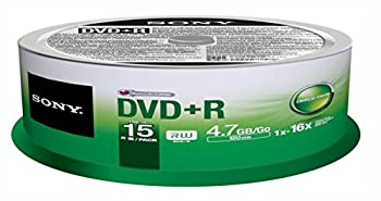 Sony DVD+R  15 pk Spindle